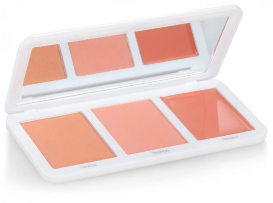models own peach blush palette