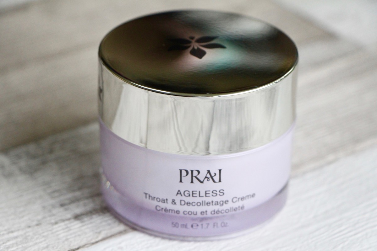 Review and Giveaway: Prai Ageless Throat & Décolletage Cream | AD