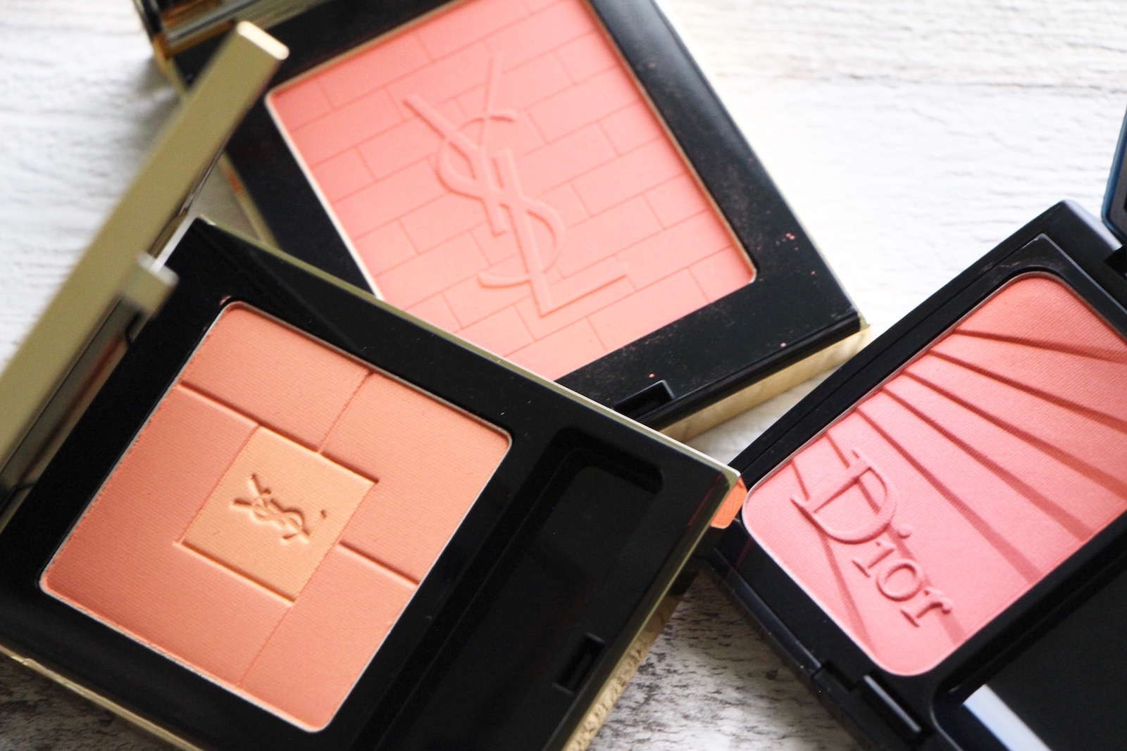 peach coral spring blushers