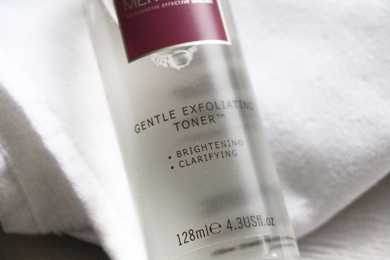merumaya gentle exfoliating toner