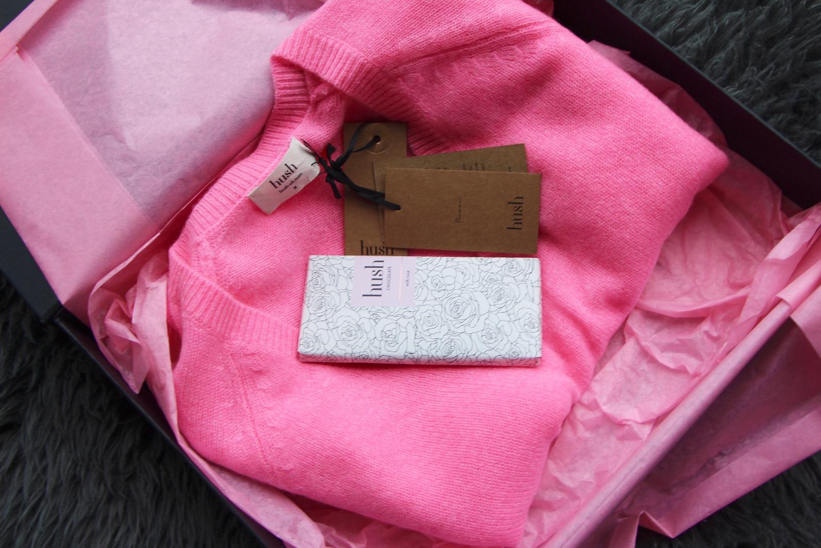 hush homewear gift set
