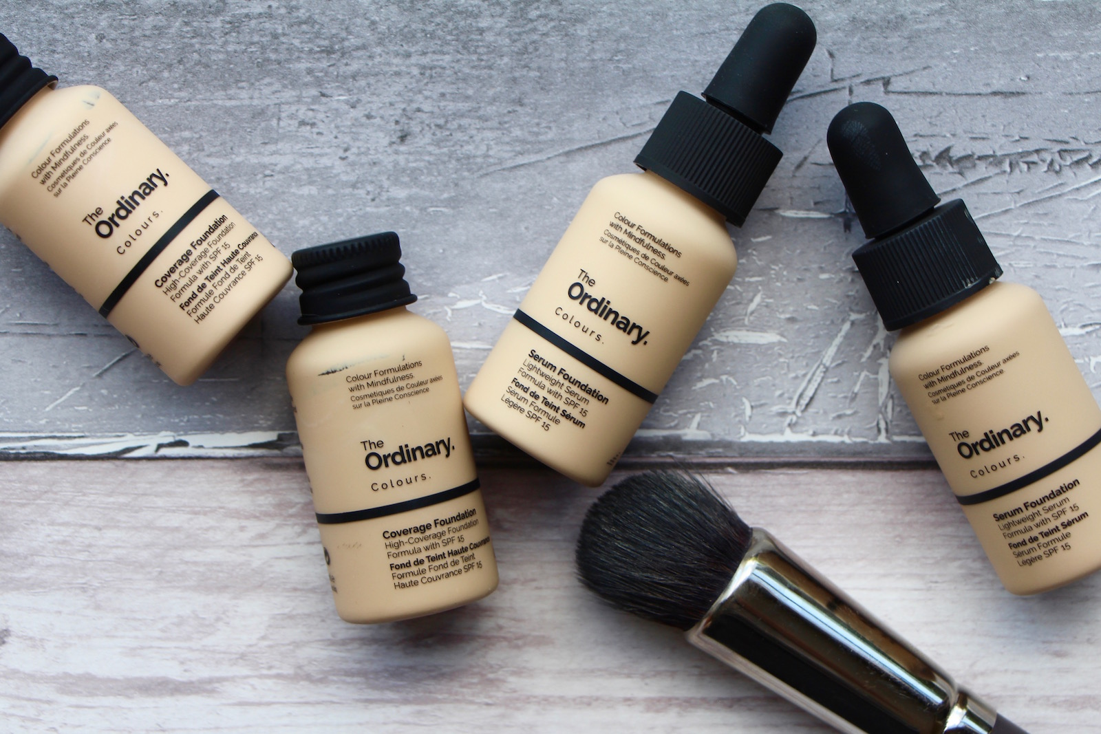Colour care foundation - The Ordinary Colours Serum And Coverage Foundation Review A Model Recommends