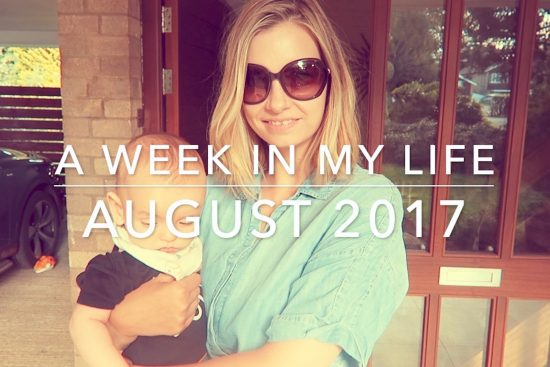 A Week In My Life: August 2017