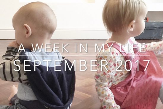 A Week In My Life: September 2017