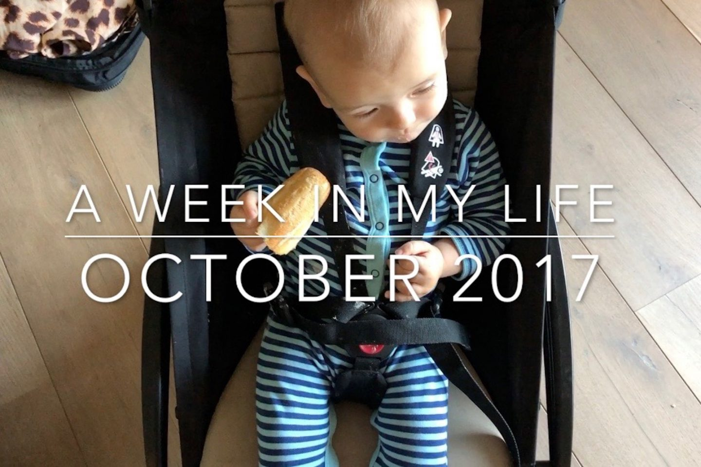 A Week In My Life: October 2017