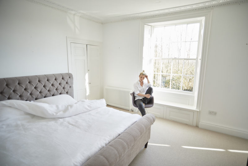 My All-White Bedroom: Adding Easy Colour | AD