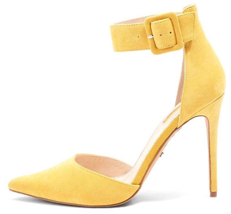 yellow fashion 2018