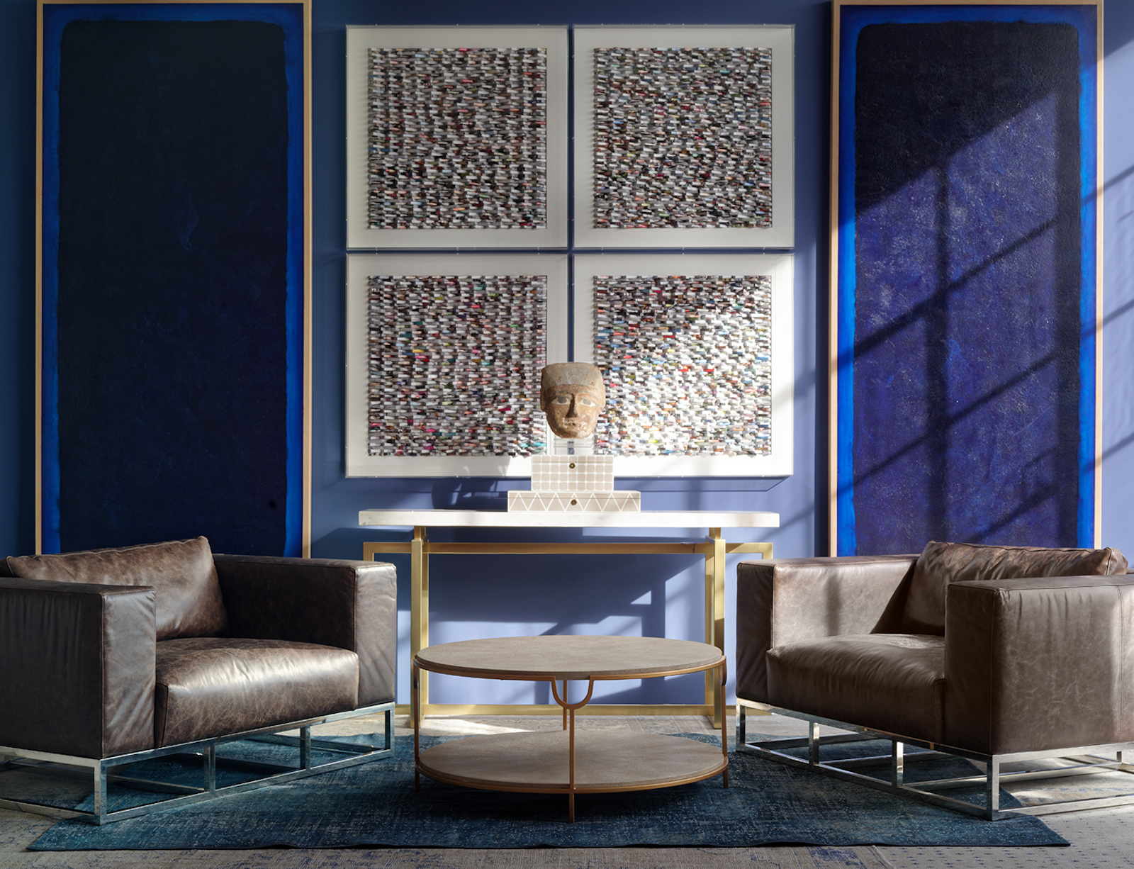An interiors tizz and two helping hands a model recommends Andrew martin interior design review