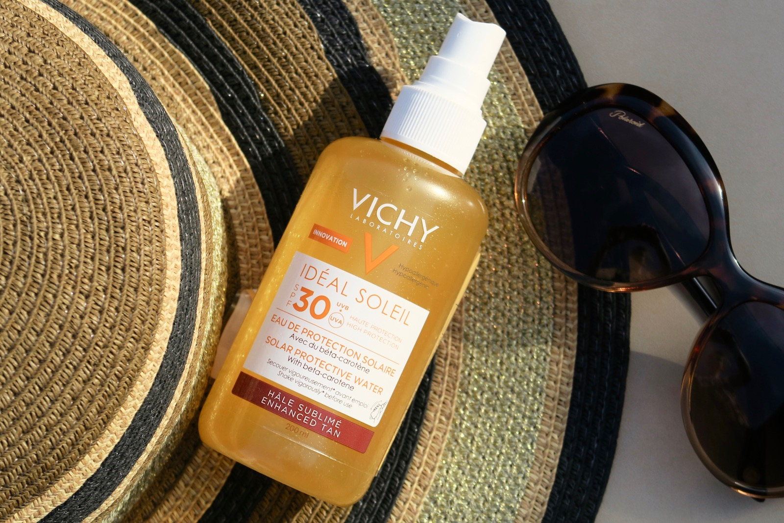 Vichy IDEAL SOLEIL TAN ENHANCING SPF30 PROTECTIVE SOLAR WATER