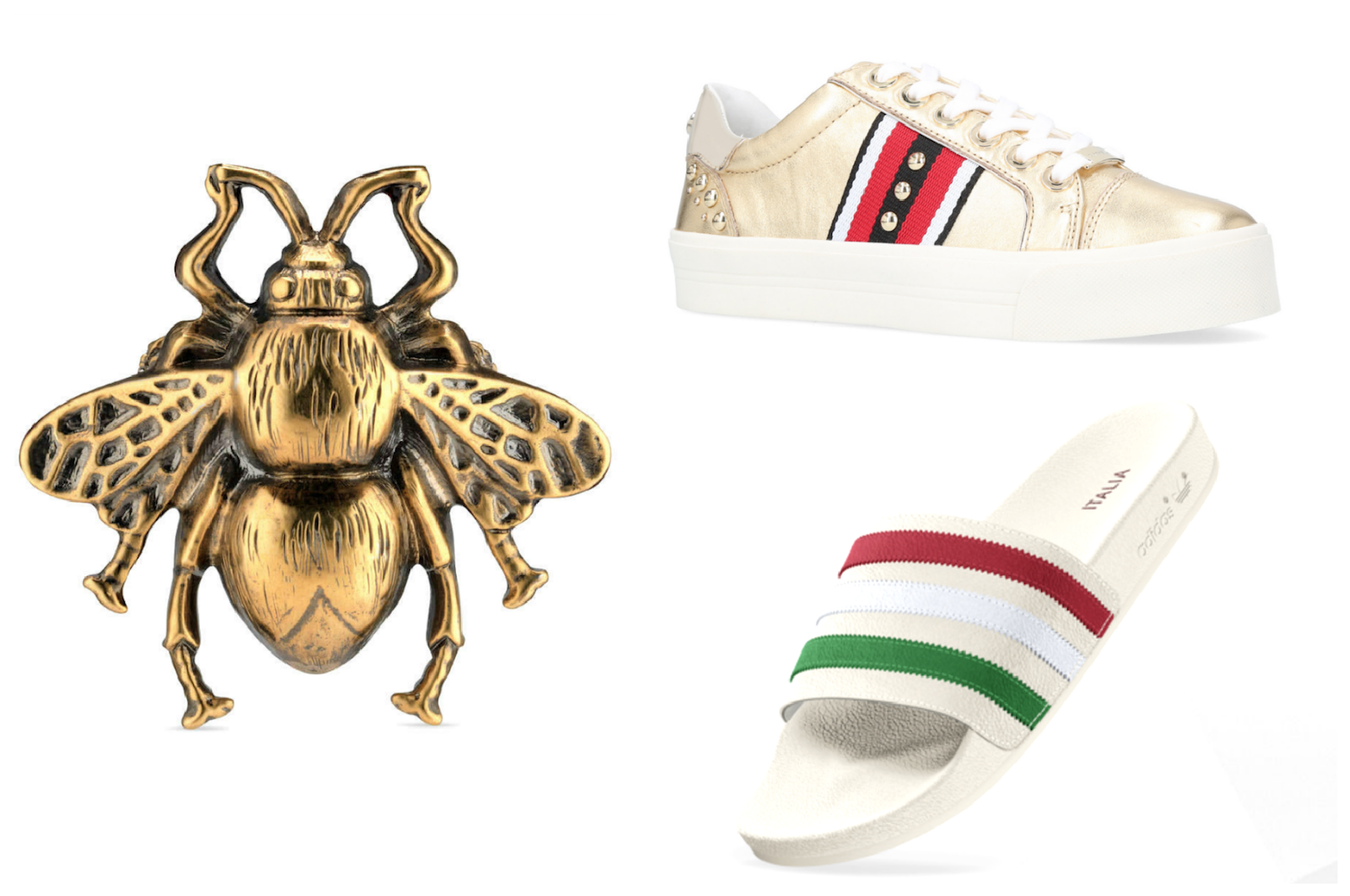 gucci inspired high street