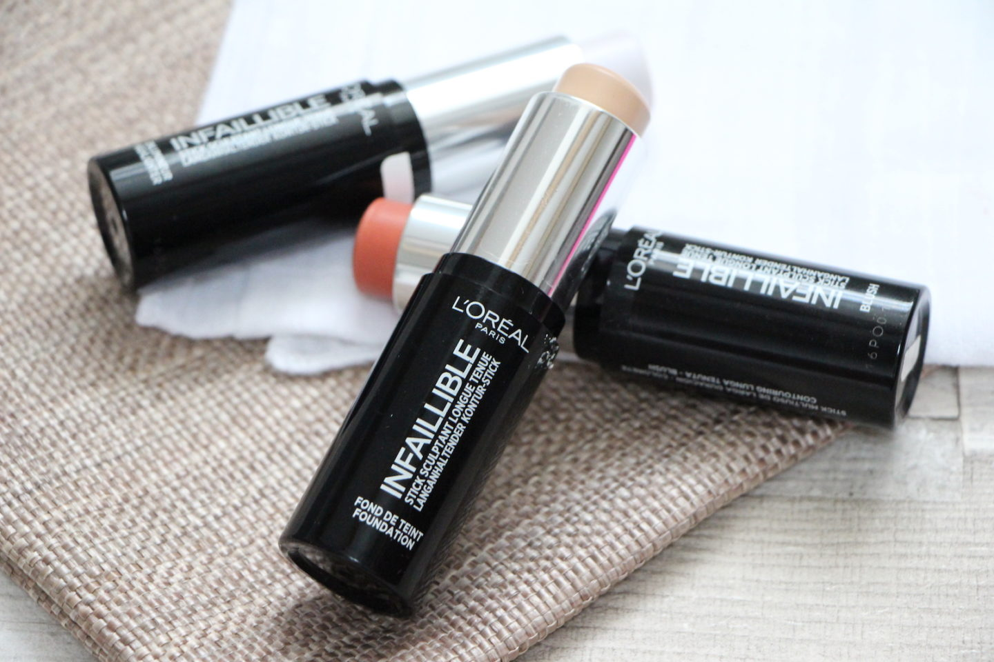Foundation Review: L'Oreal Paris Infallible Shaping Stick