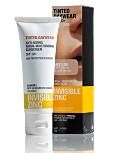 invisible zinc tinted daywear