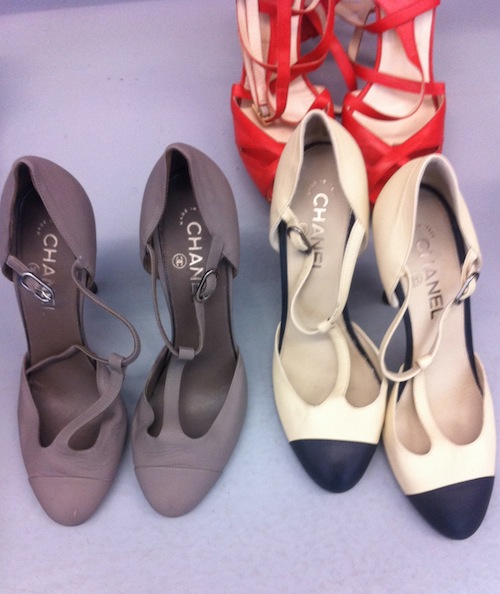 chanel shoes spring summer 2011