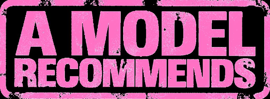 A Model Recommends Logo