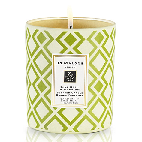 Jo Malone Limited Edition David Hicks Candle