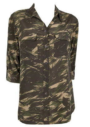 Equipment-SignitureShirtRolledSleeves-ArmyPrint-fr-L