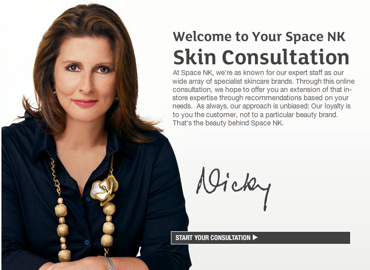 space nk skin consultation