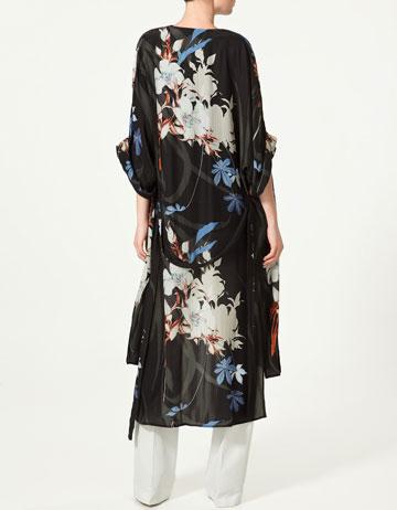 Zara Silk Kimono