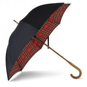 LONDON UNDERCOVER Royal Stewart umbrella
