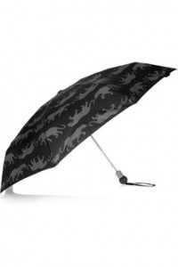 MARC BY MARC JACOBS Panther-print automatic mini umbrella
