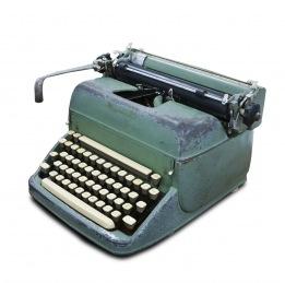 typewriter logo