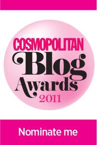 cosmo blog award button