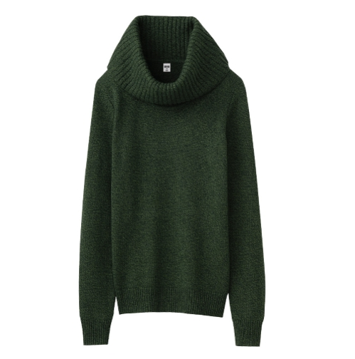 Uniqlo Cashmere Polo Neck
