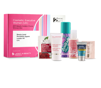 Cosmetic Executive Women Beauty Insiders Choice Box