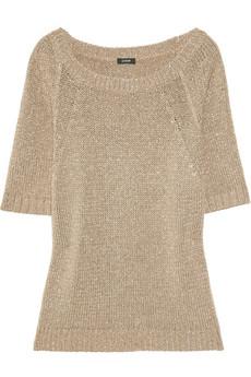 J.Crew Metallic Knitted Sweater