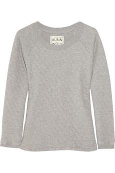 Aubin & Wills Quilted Cotton-Jersey Sweater