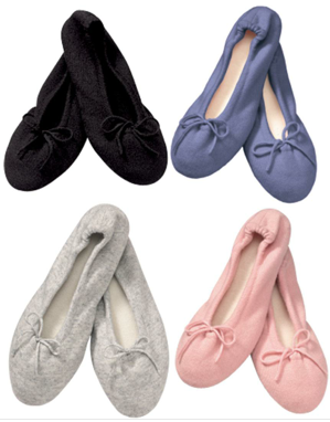 Charlotte & Co slippers