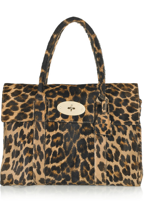 mulberry bayswater leopard