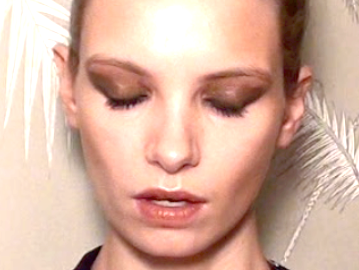 ruth crilly new year makeup tutorial