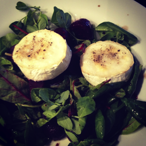 Goat Cheese and Beetroot Salad