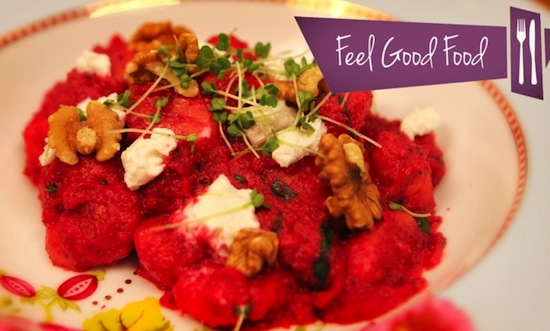 feel good food beetroot gnocchi recipe