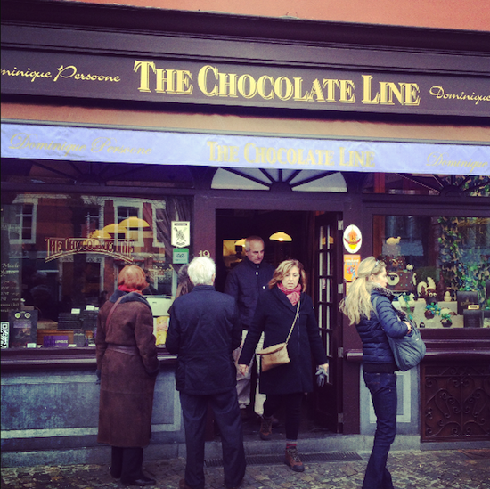 the chocolate line shop bruges travel review