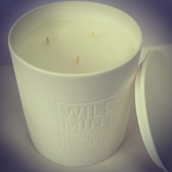 Wild Mint Candle Review The White Company