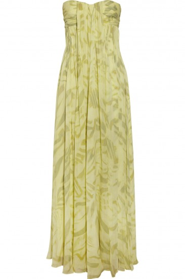 halston heritage maxi dress