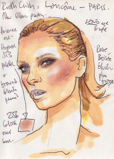 alex babsky makeup chart