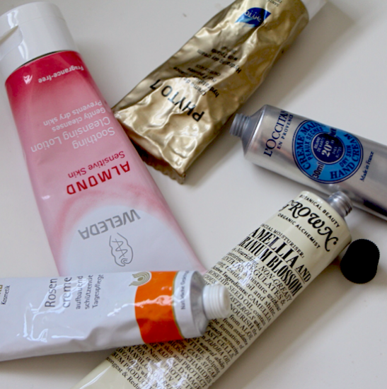 Beauty Product Reviews - Tubes
