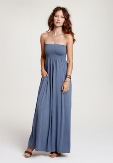 hush jersey maxi dress