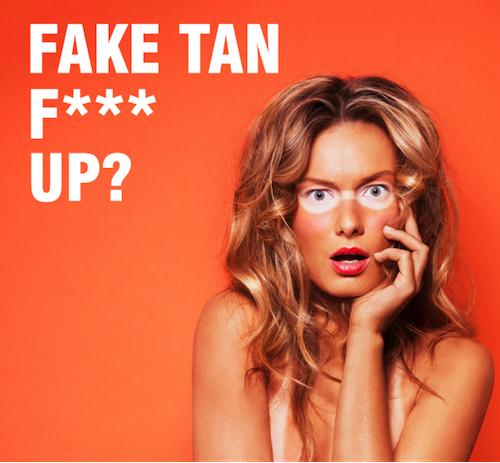 fake tan remover