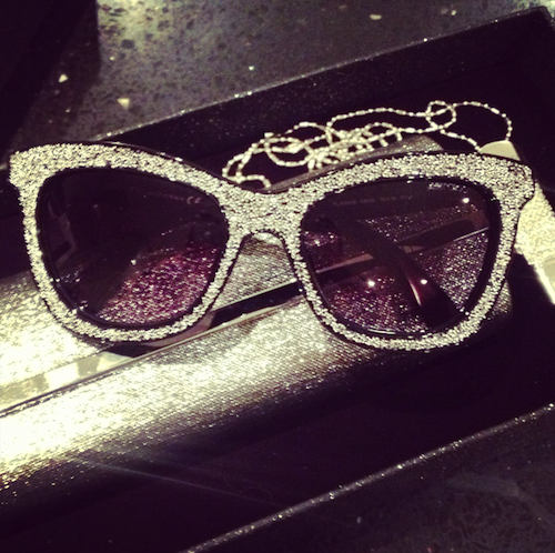 Jimmy Choo Autumn 2013 Collection Flash Sunglasses