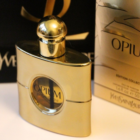 opium gold bottle edition