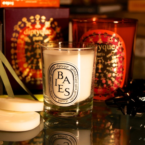 free baies candle diptyque