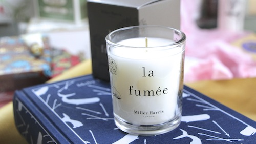 miller harris la fumee mini candle
