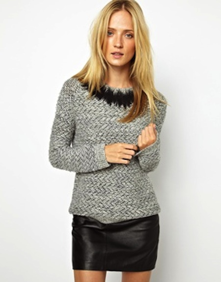 whistles boucle jumper