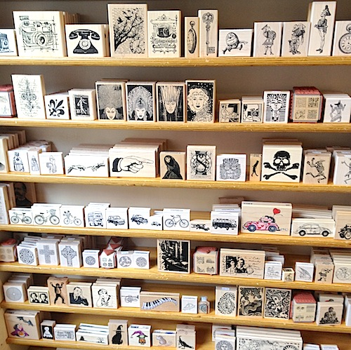 blade rubber stamp shop