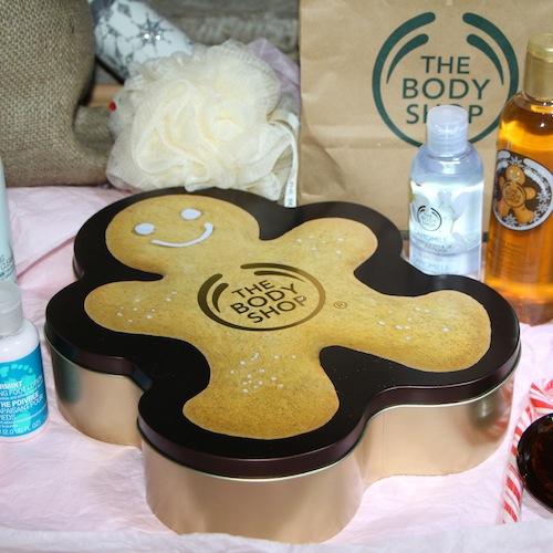 the body shop gingerbread man