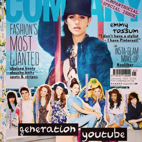 Company Magazine Front Cover Youtube Generation